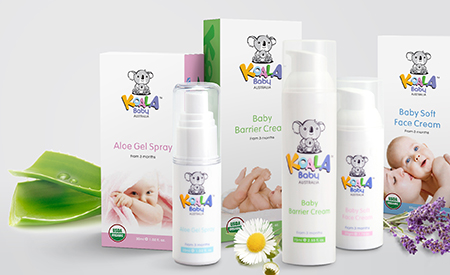 Koala Baby Australia Packaging image