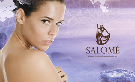 Salomé Skincare Brand Creation image